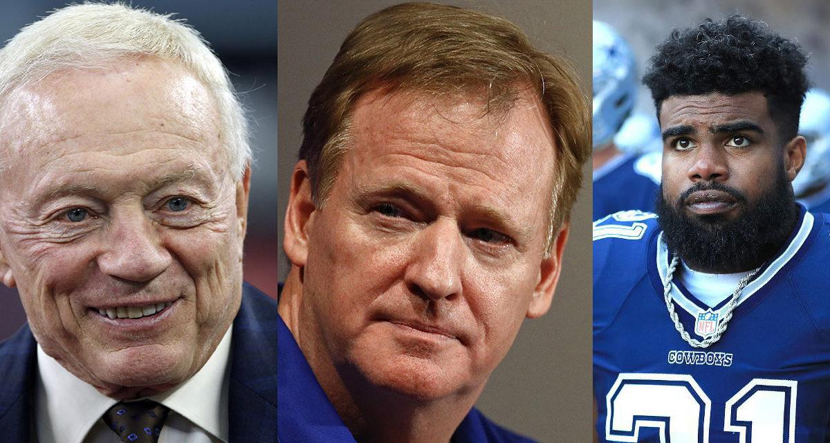 The NFL vs. Jerry Jones